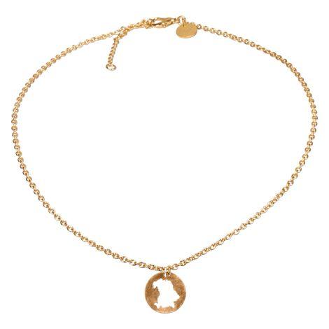 Halskette Bayern (gold-farben) Bild 3