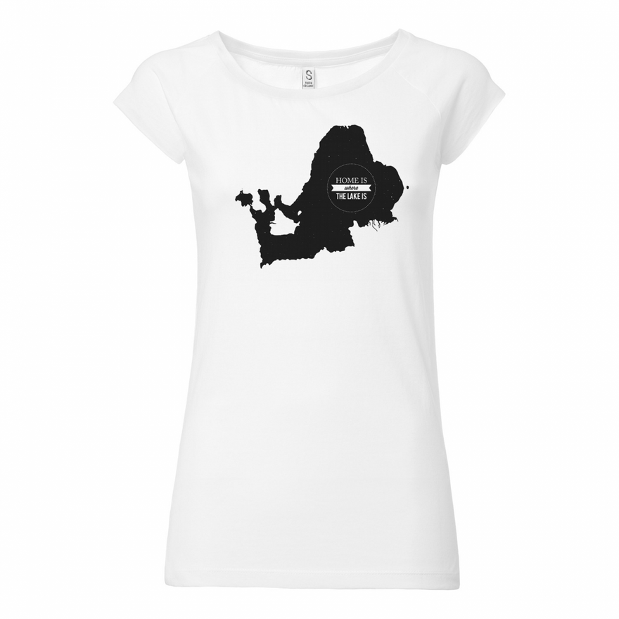Chiemseemotiv Shirt white Ladies