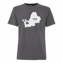 Chiemseemotiv T-Shirt Castlerock white