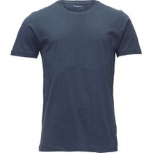 Basic Regular Fit 0-Neck Insigna Blue Melange 001