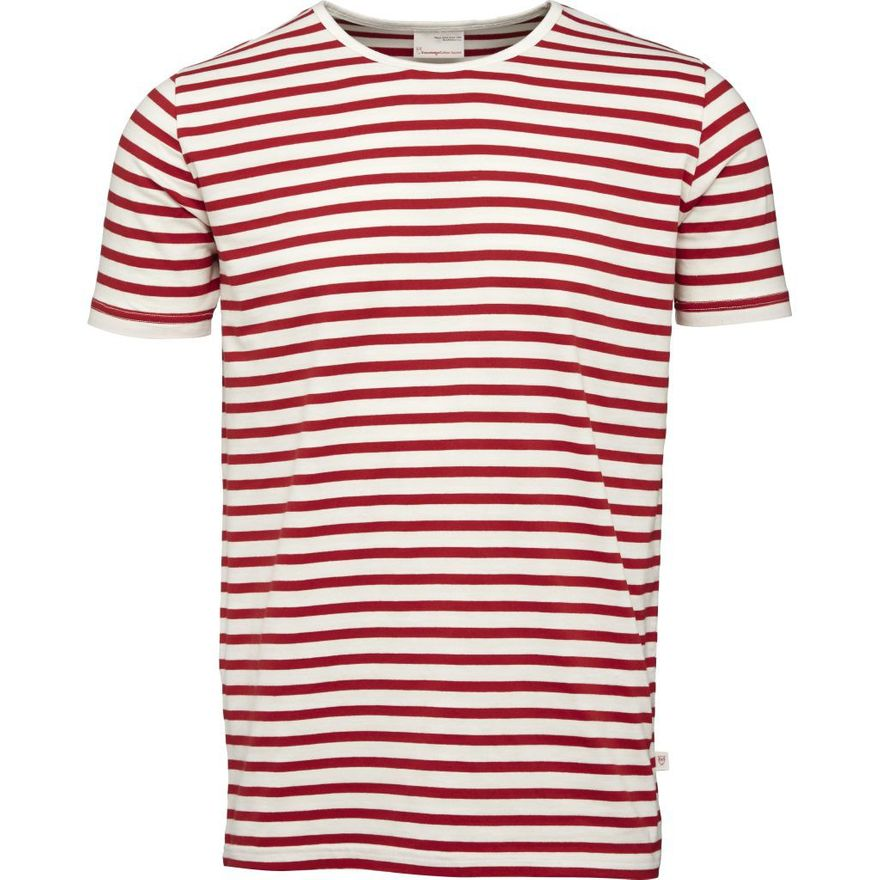 Single Jersey Yarndyed Striped T-Shirt GOTS