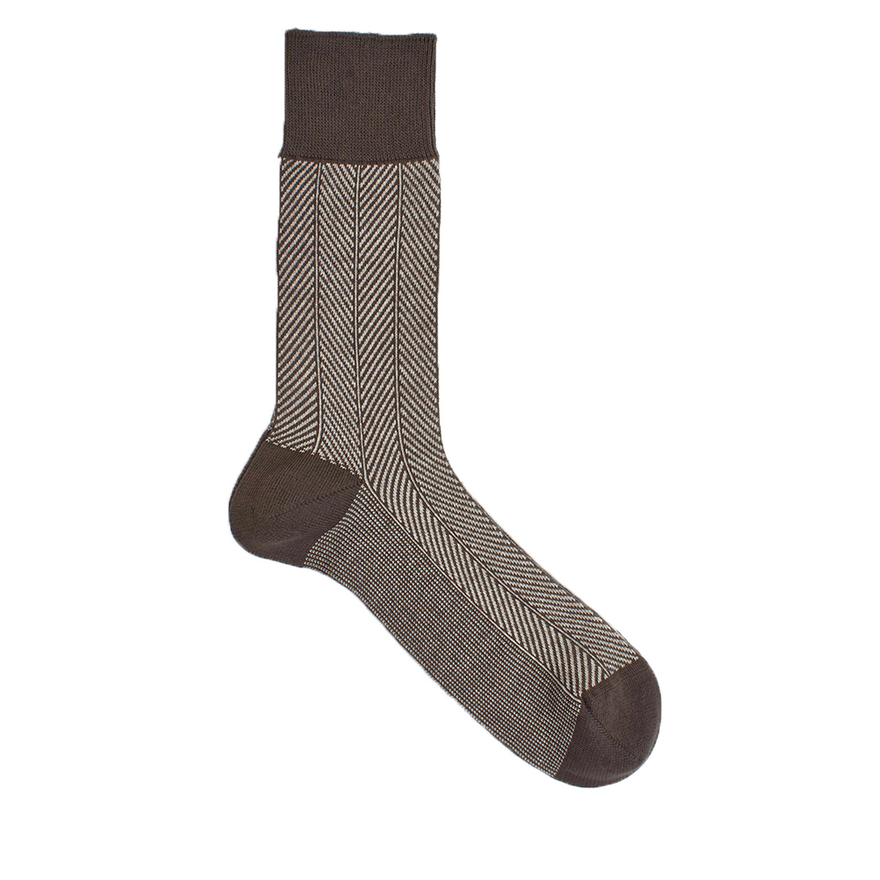 Fishbone Biobaumwoll Socke verschiedene Farben Damen & Herren – Bild 2