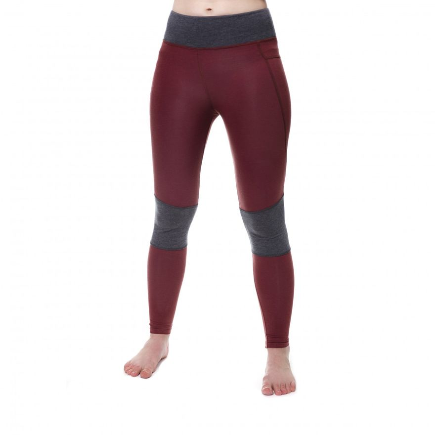Functional Leggings Damen Rostrot – Bild 1