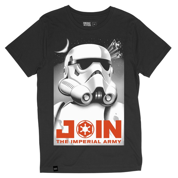 Star Wars Imperial Army T-Shirt Charcoal