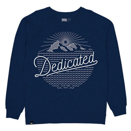 Sweatshirt Mountain Script