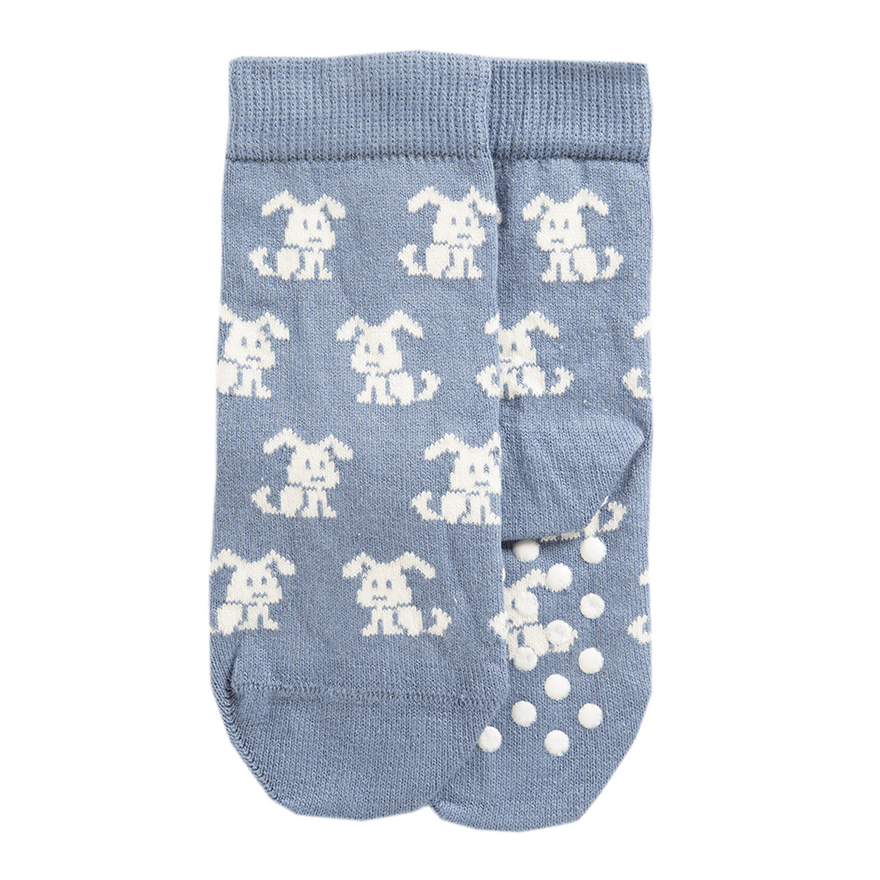 Bio Kinder Socken mit Noppen Biobaumwolle verschiedene Motive & Farben für Mädchen und Jungs – Bild 1