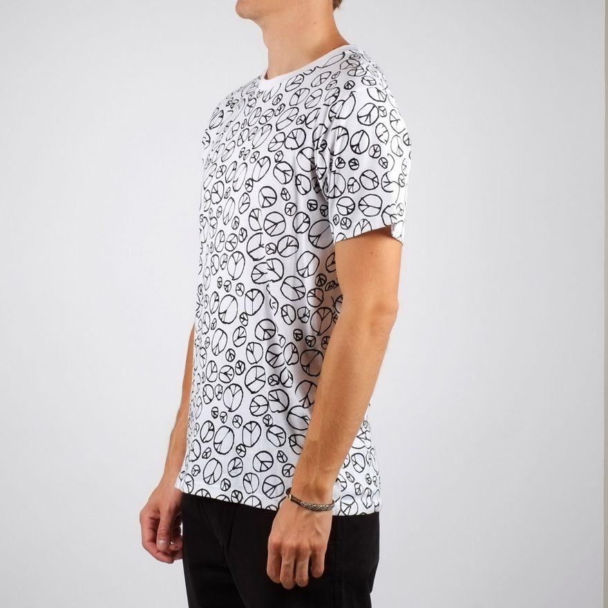 Stockholm T-shirt Peace Pattern – Bild 2