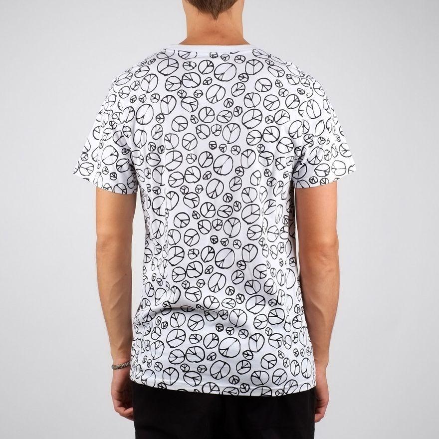 Stockholm T-shirt Peace Pattern – Bild 4