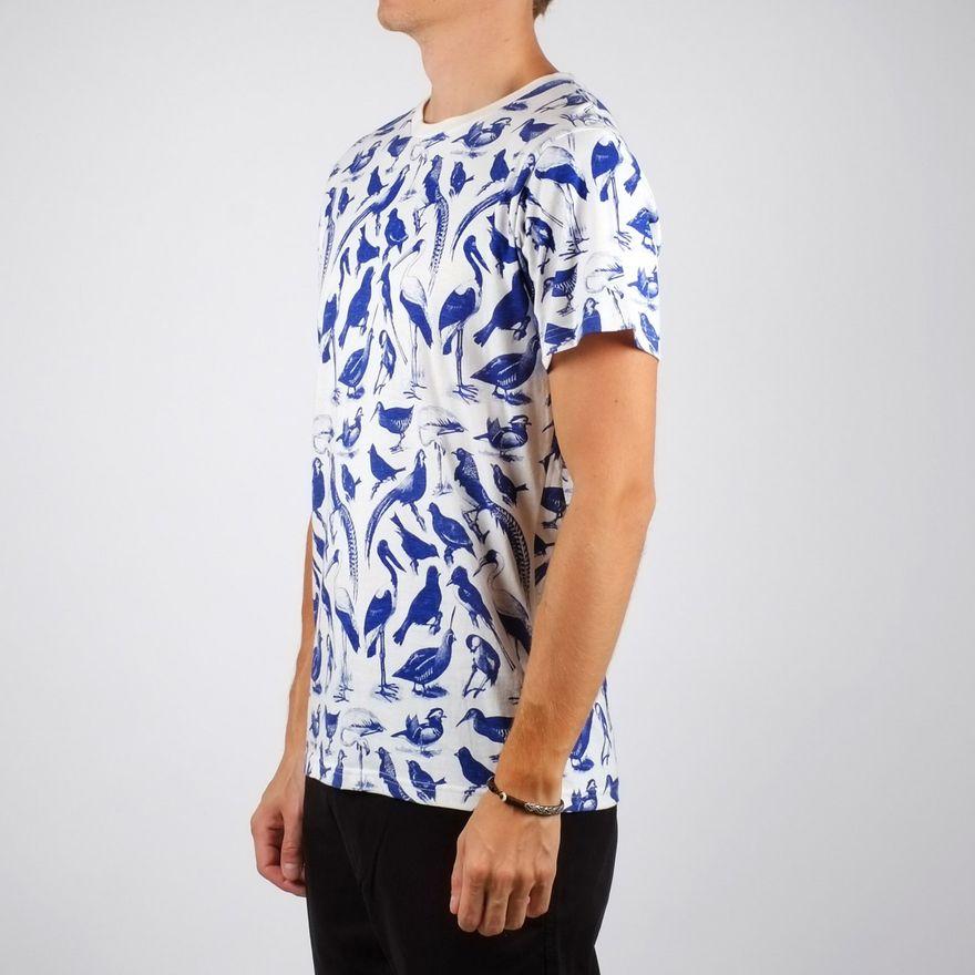 Stockholm T-Shirt blue birds  – Bild 4