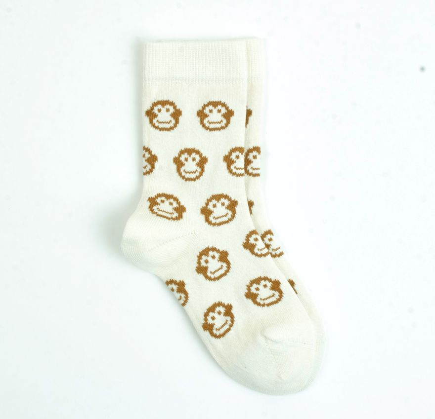 MONKEY ORGANIC COTTON Socks