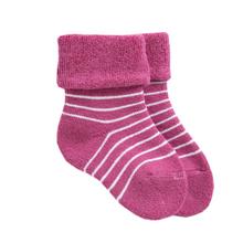 Stripe Terry Baby Socks 001
