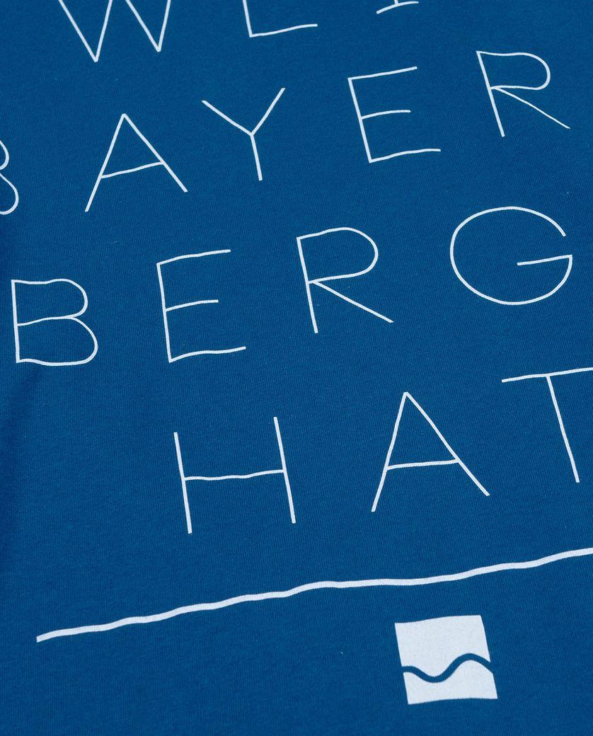 Shirter Weil Bayern Berge blau – Bild 4