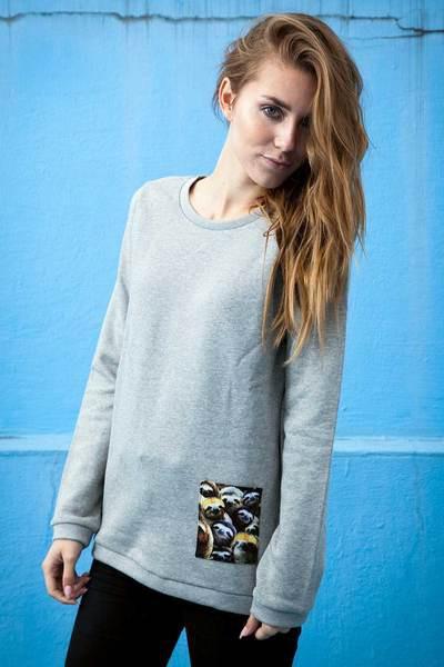 Sloth Pocket Sweater – Bild 5