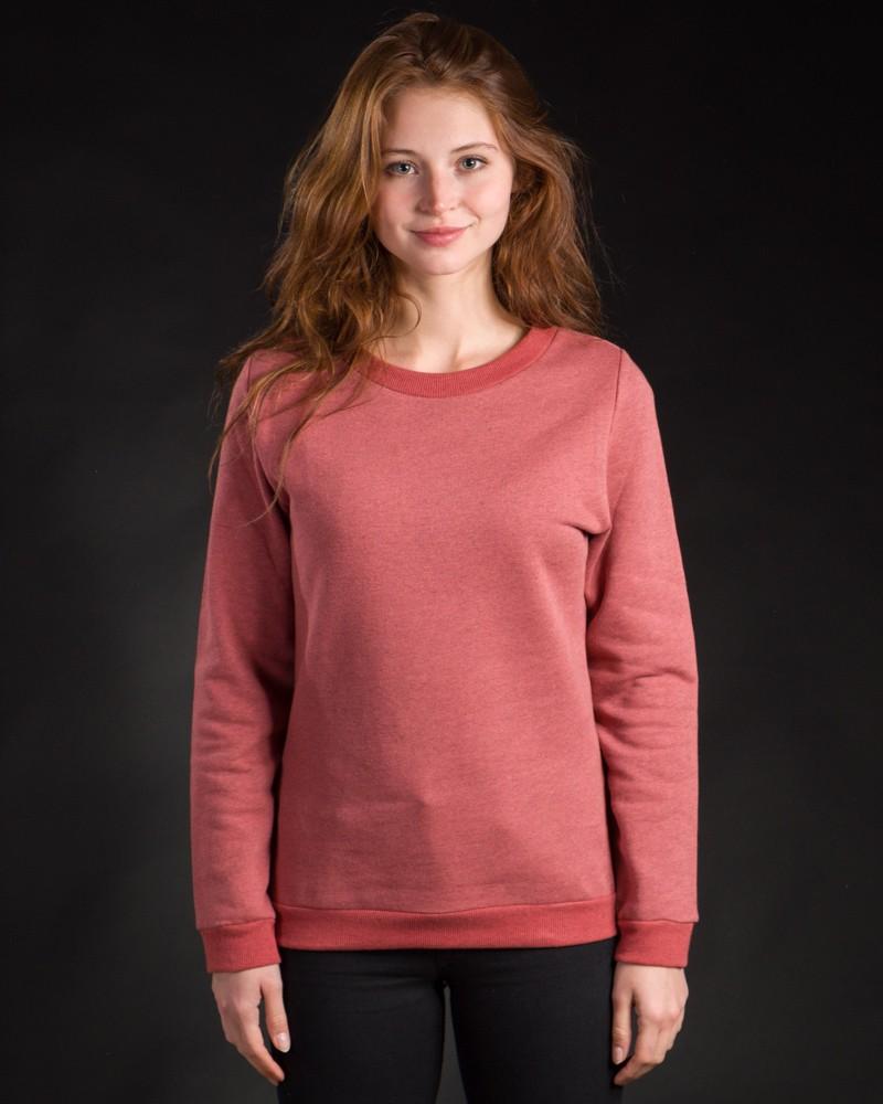 Classic Sweater rot meliert – Bild 3