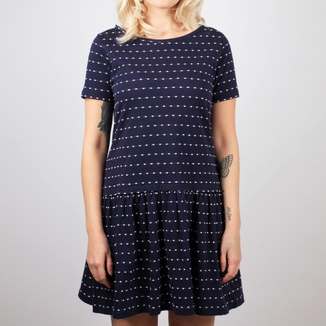 Dress Sandvig Stripe Dots Navy – Bild 2