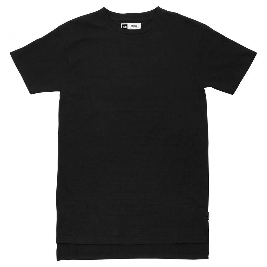 T-shirt Alta Full Jacquard Black – Bild 1