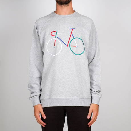 Sweatshirt Malmoe Color Bike Embroidery – Bild 7