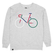 Sweatshirt Malmoe Color Bike Embroidery 001