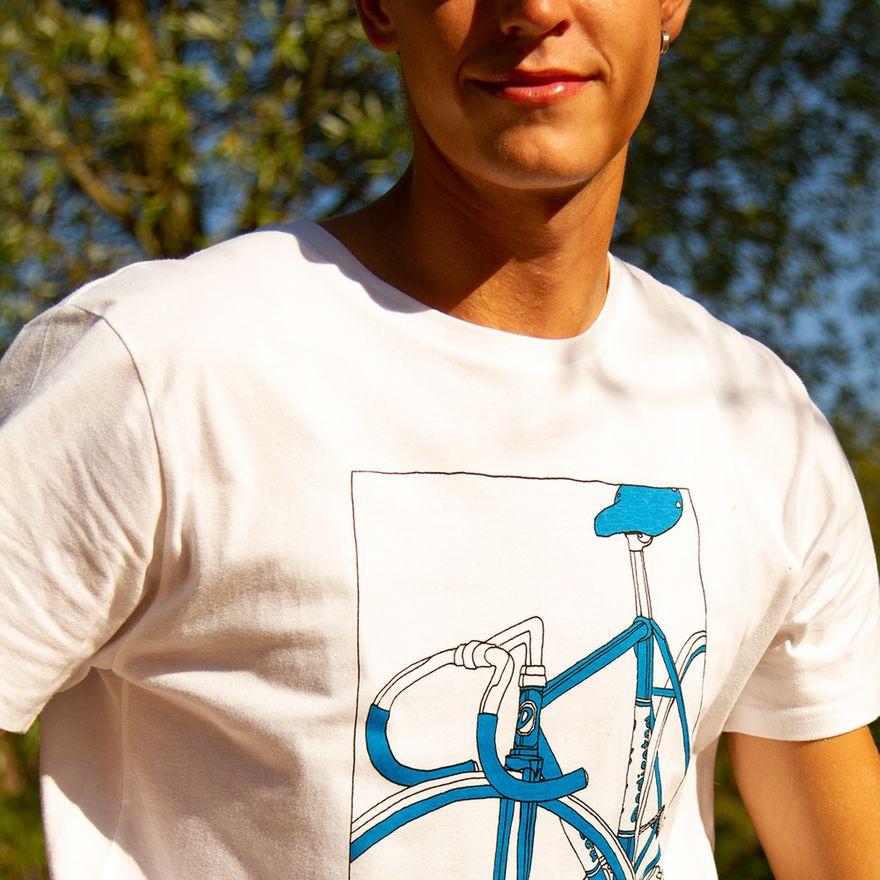 T-Shirt Stockholm Bike Box White – Bild 7