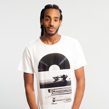 T-shirt Stockholm Playing Record – Bild 2