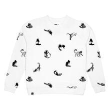 Sweater Ystad CATS white 001