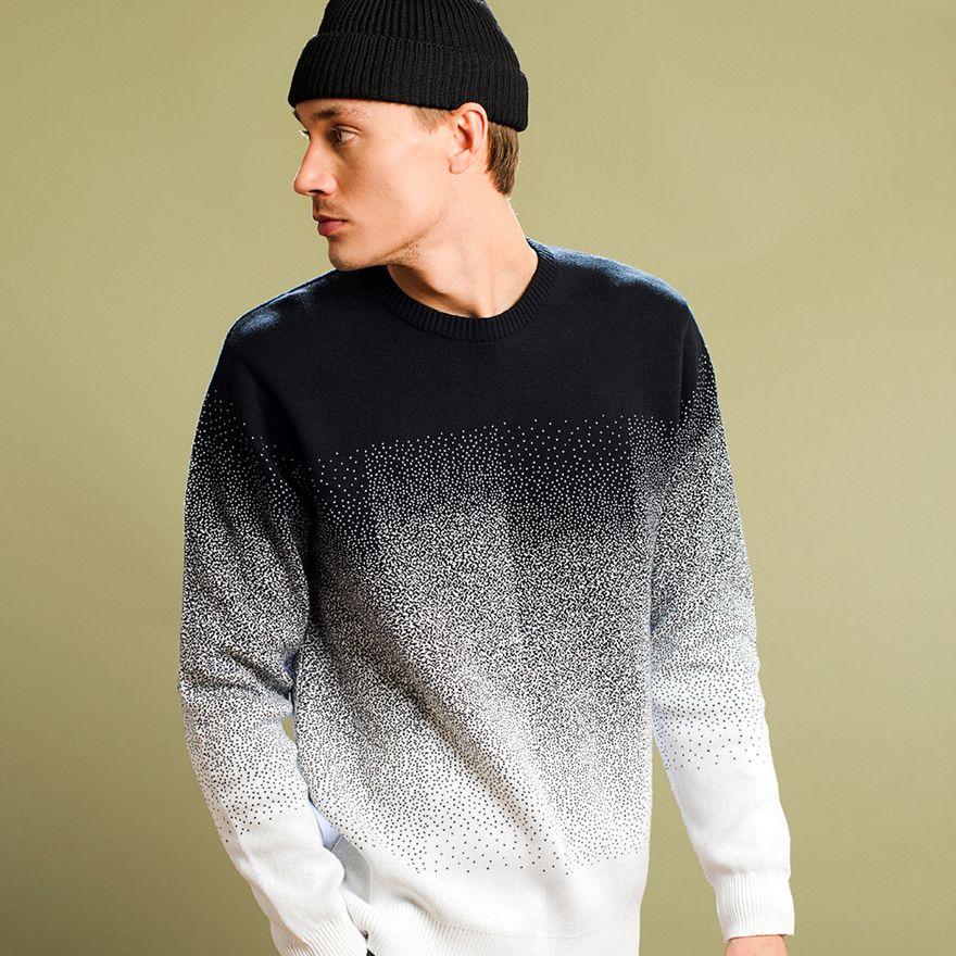 Sweater Mora Fade / Black – Bild 8