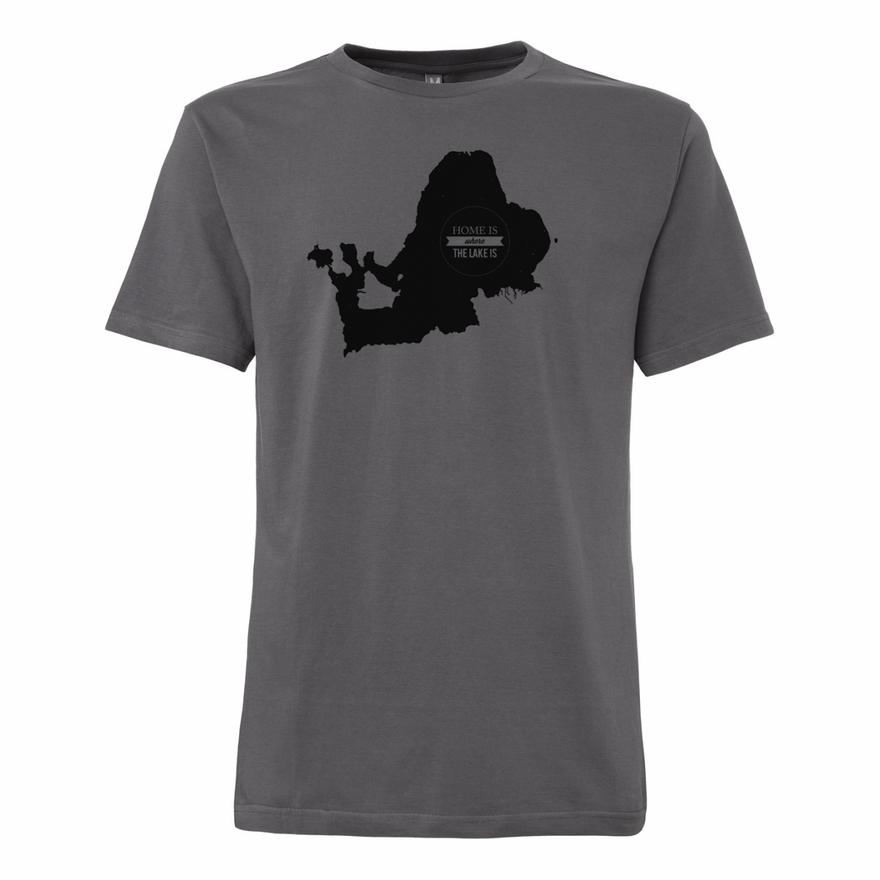 Chiemseemotiv T-Shirt Castlerock GOTS – Bild 1