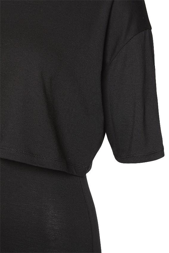 Layered Dress black – Bild 2