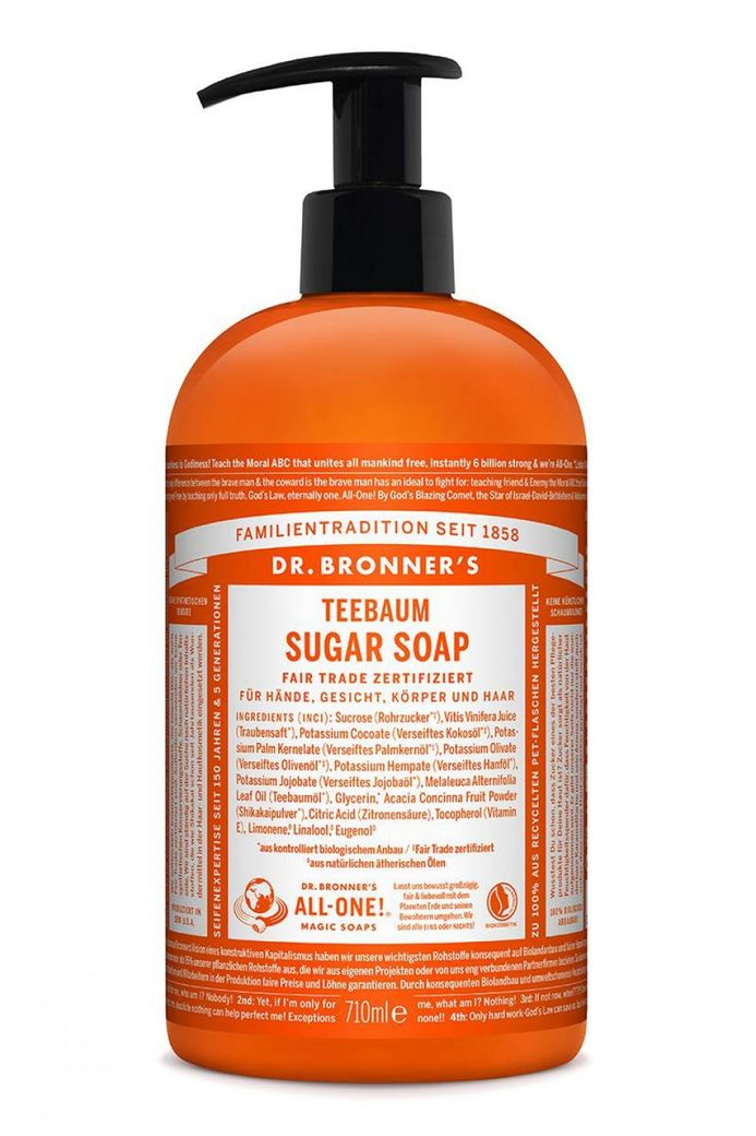 Bio Sugar Soap Teebaum 355ml