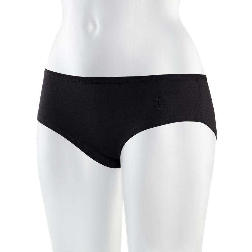 TT21 Panty Allblack GOTS & Fairtrade