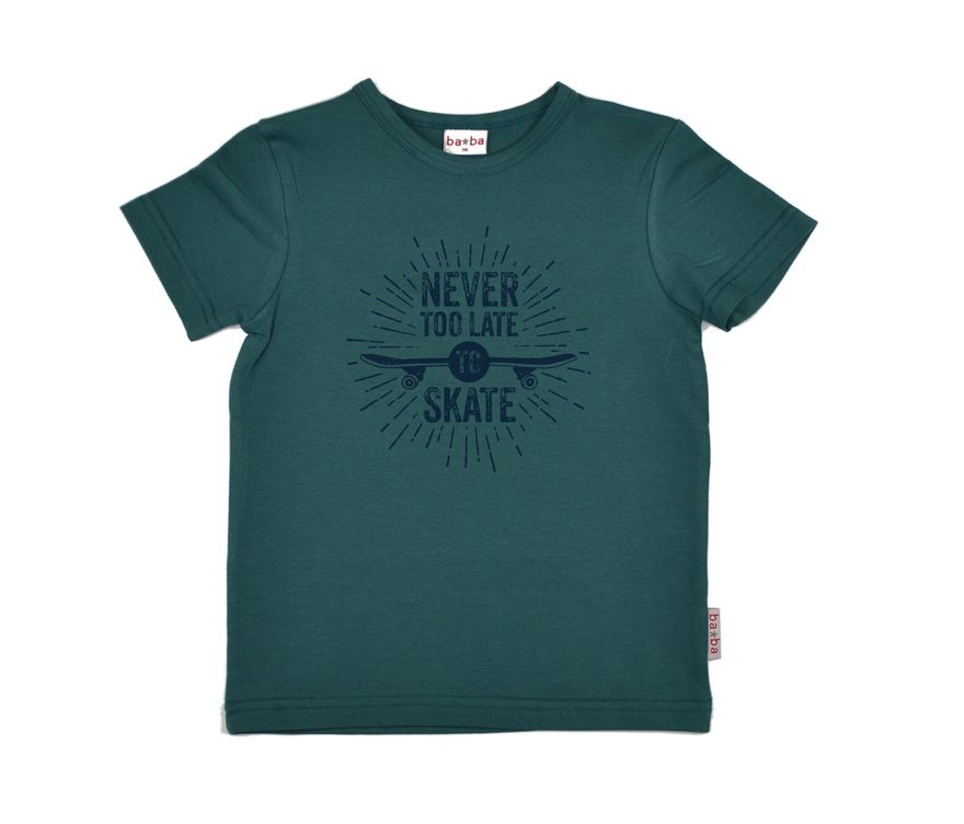 Boys T-Shirt Skate green