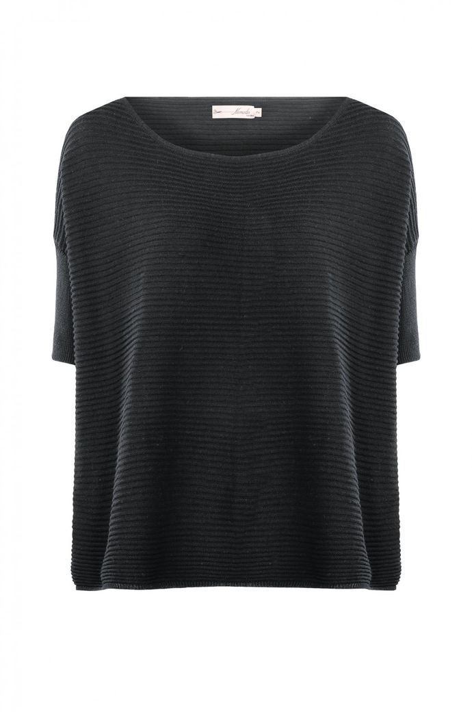 Salome Oversize Top black – Bild 1