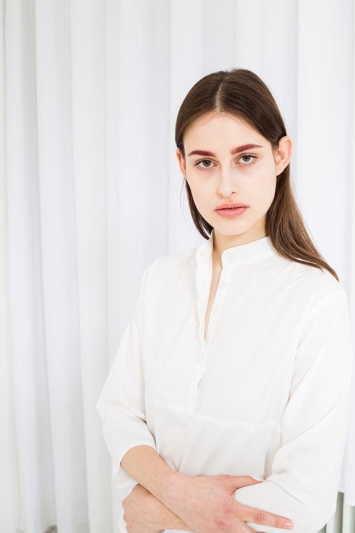 TT62 Blouse Woman Porcelain Bio & Fair – Bild 2