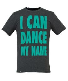 I CAN DANCE MY NAME Tee grey organic 001