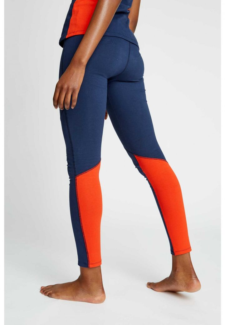 Yoga Colourblock Leggings in Fiesta – Bild 2