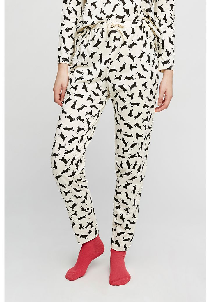 Cat Pyjama Trousers – Bild 2