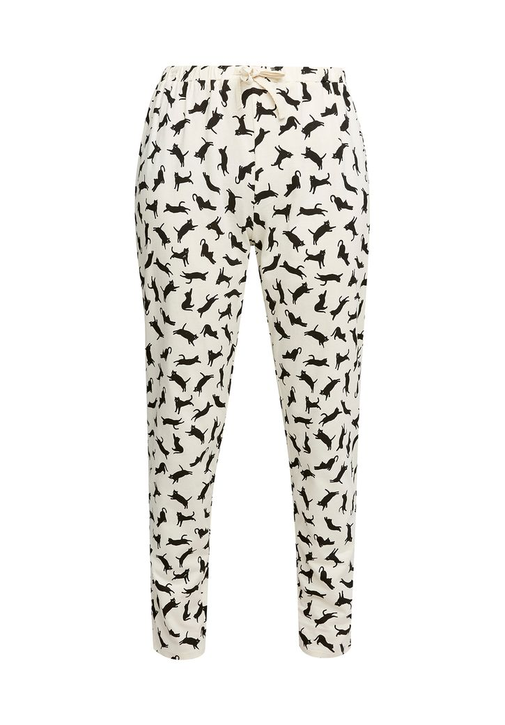 Cat Pyjama Trousers – Bild 1