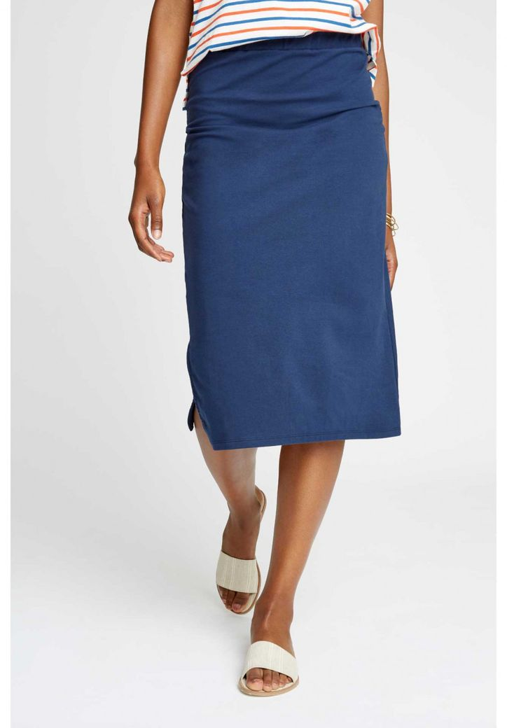 Keira Pencil Skirt Navy – Bild 1