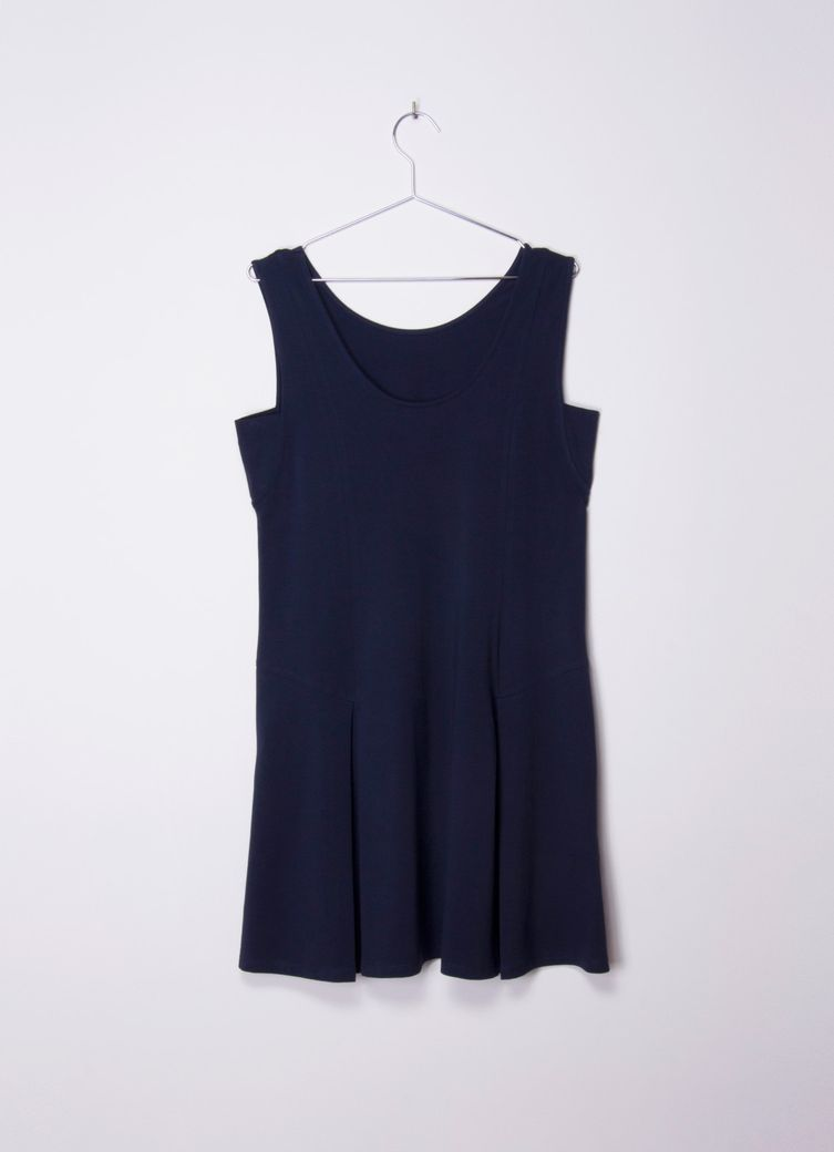 Morgana Dress Navy – Bild 2