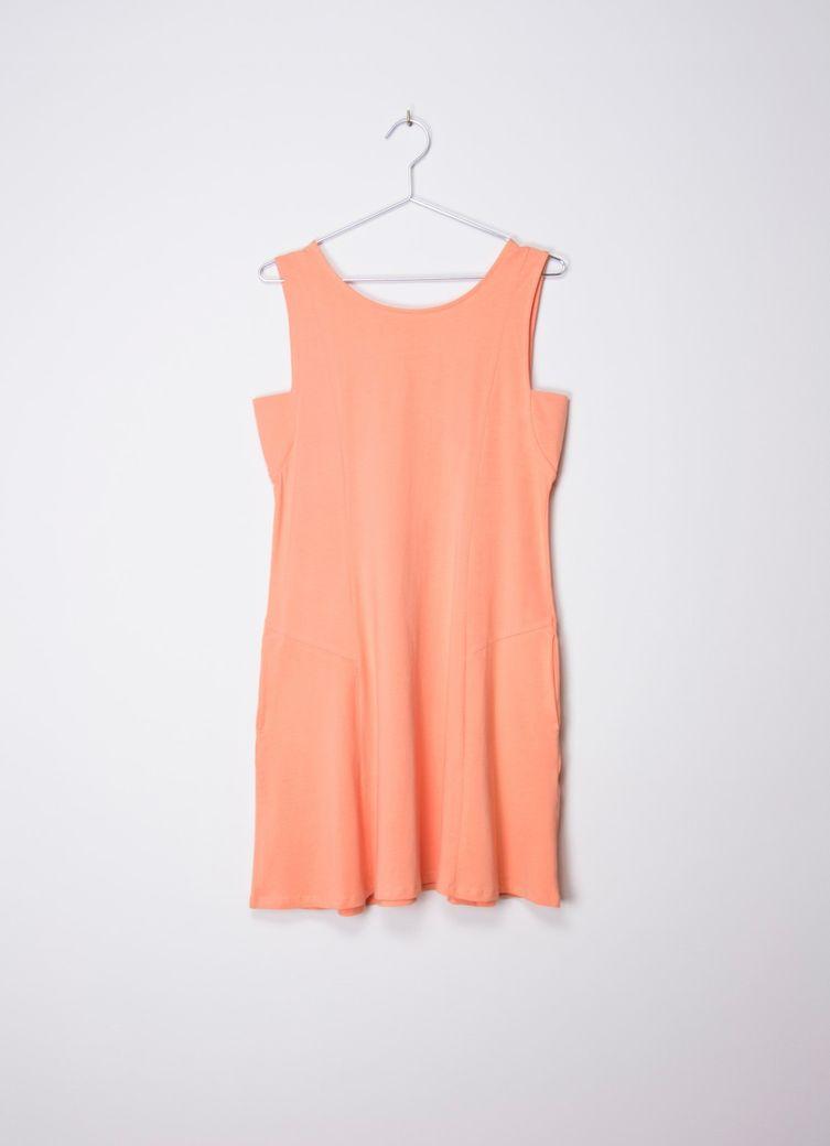 Morgana Dress Coral – Bild 1