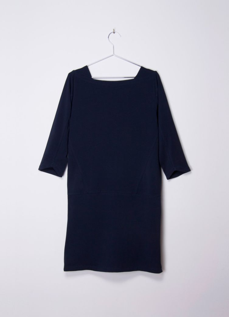 Enya Dress navy – Bild 2