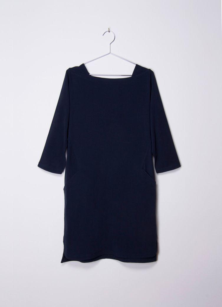Enya Dress navy – Bild 1