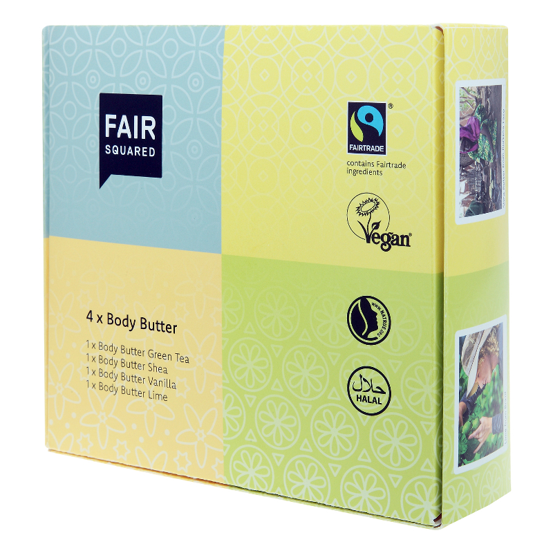Fair Squared Body Butter Set 4 x 50ml – Bild 1