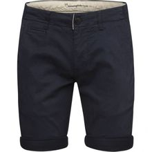 Stretch Chino Short GOTS Turkish Sea 001