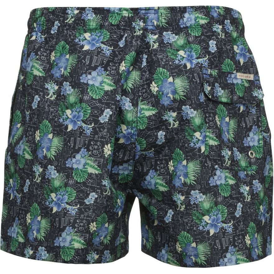 Swim Shorts Palm Print Total Eclipse – Bild 2