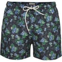 Swim Shorts Palm Print Total Eclipse 001