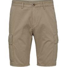 Cargo Shorts GOTS Light Feather Gray 001