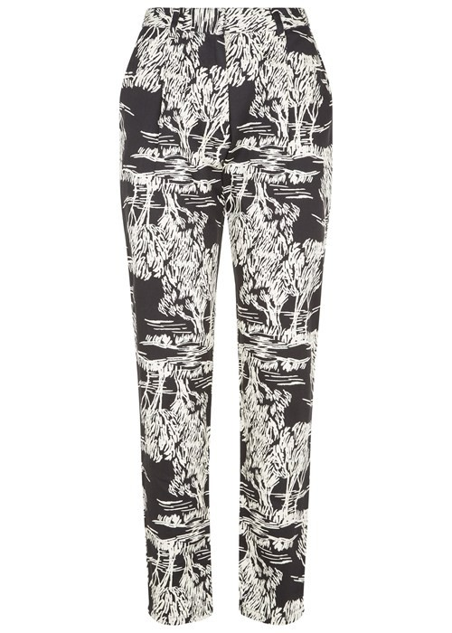 AVERY TREE PRINT TROUSERS – Bild 1