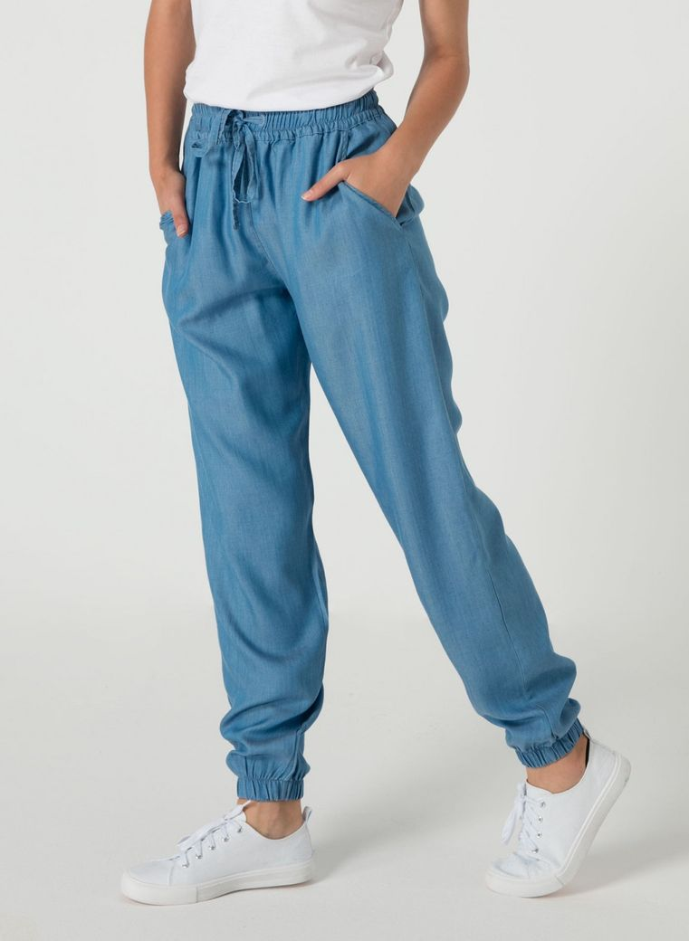 Tencel Hose light denim – Bild 4