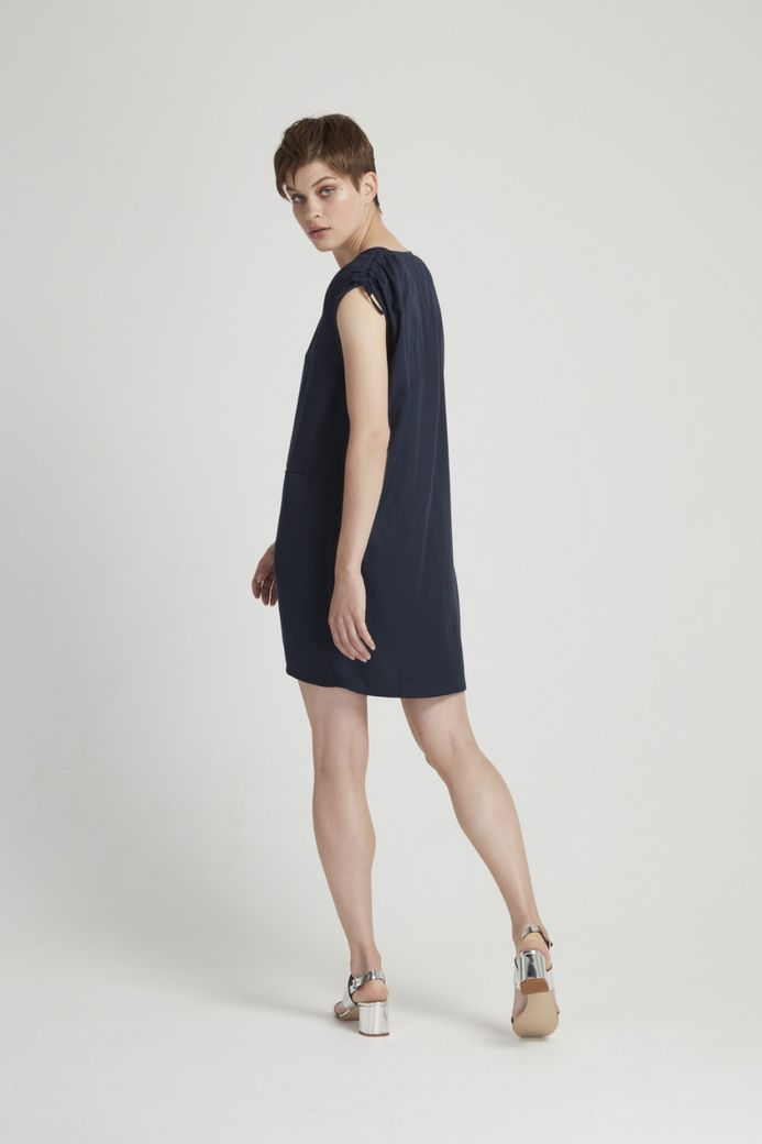 Alison Tunic Dress Navy – Bild 2